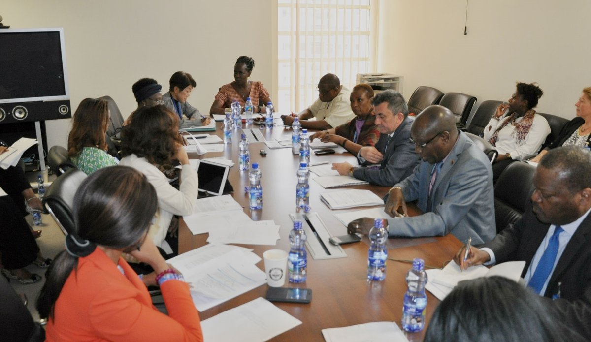 UNOAU hosts the UN Liaison Team in Ethiopia | UNOAU
