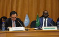 The UN Peacebuilding Commission meets with key stakeholders in Addis Ababa