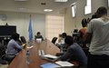 SRSG Abrour speaks to media on the Global Compact for Migration