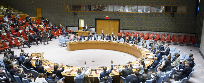 The Security Council unanimously adopts resolution 2320 (2016), reaffirming its determination to take effective steps to further enhance the relationship between the UN and regional organizations, in particular the African Union. 18 November 2016