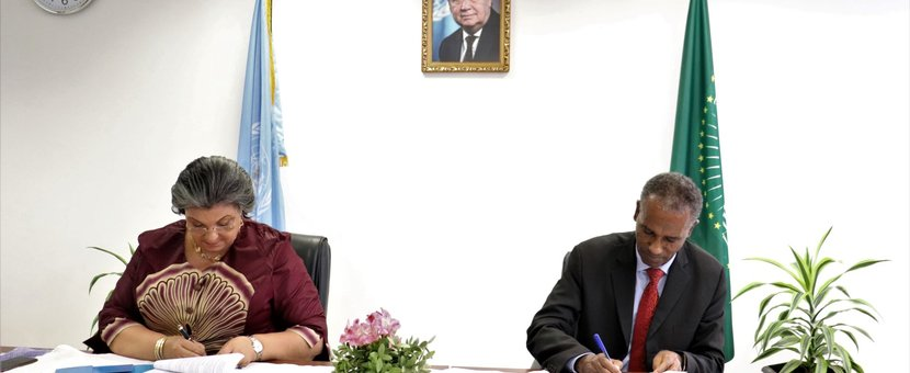 IPSS-UNOAU sign MoU to enhance collaboration on peace and security issues in Africa